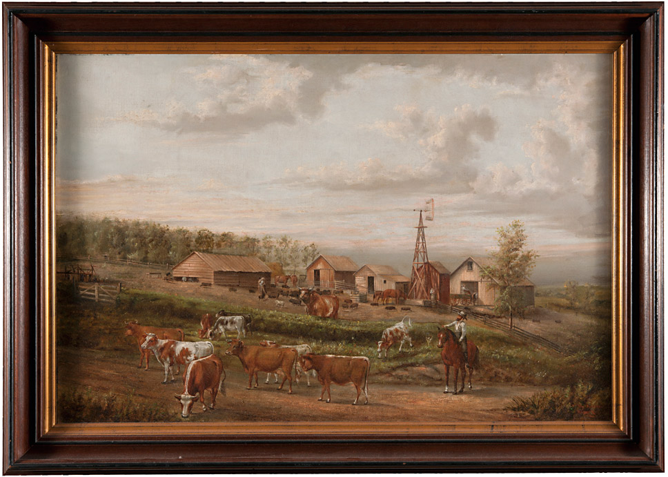 Calendar Art Ks : Farmstead blue rapids kansas by johnston collection